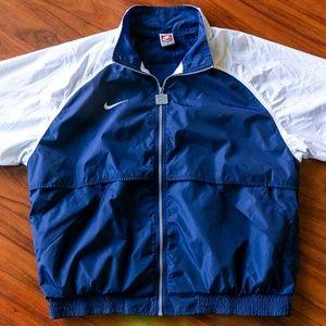 Vintage 90s NIKE Team Sports Full Zip Windbreaker